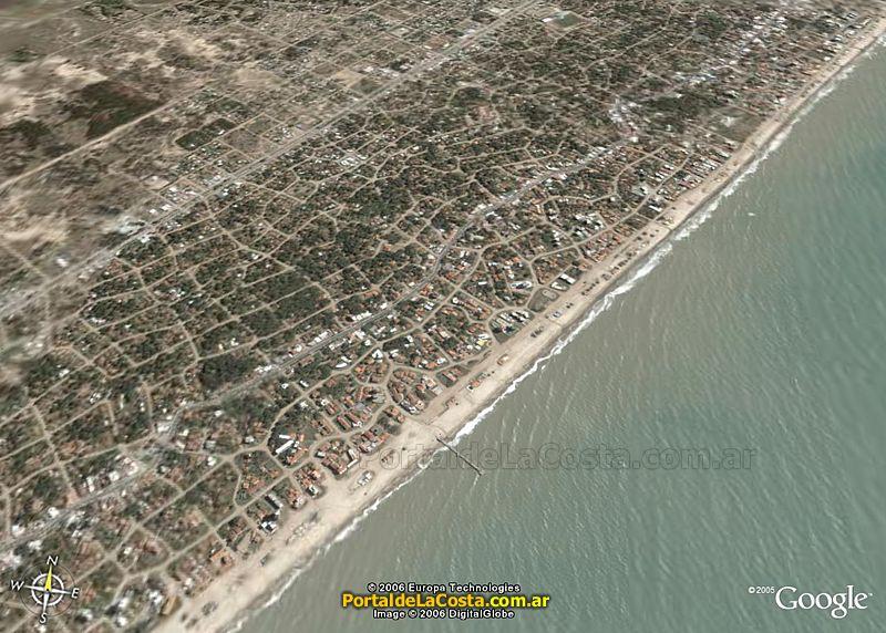 Imágen satelital Villa Gesell - Google Maps